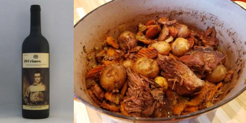 Bœuf braisé aux légumes