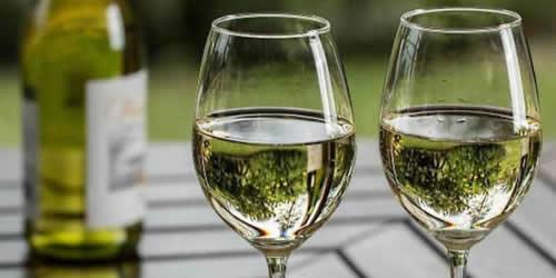 Le Vin blanc est également bon pour la Santé