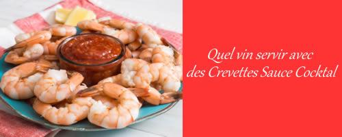 Crevettes & Sauce Cocktail