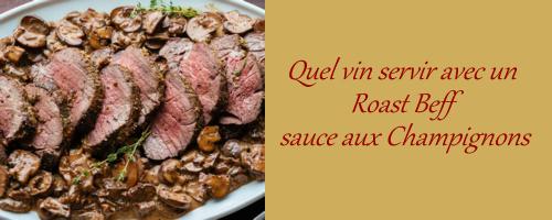 Roast Beef Sauce champignons